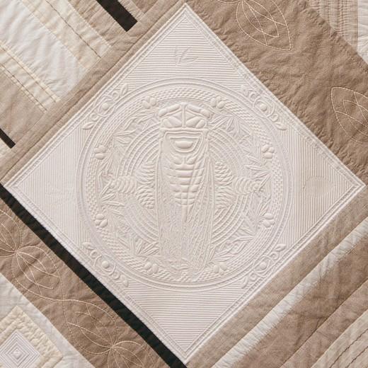 Hubert Valeri - Cigale - Detail
