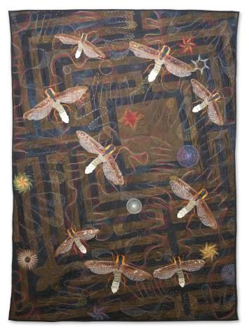 Barbara Lange - Monochrom 10-Fireflies - 143x184