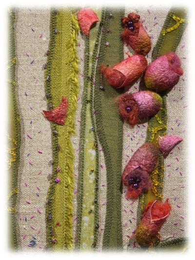 Catherine Tourel - Fleurs d'eau - Detail 01