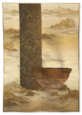 Hyesook Kim - Enshrine the Landscape - 106x152