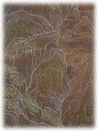 Hyesook Kim - Enshrine the Landscape - Detail 01