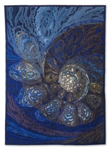 Irina Voronina - Serie Palecosmos-Shells-Nautilus - 62x86