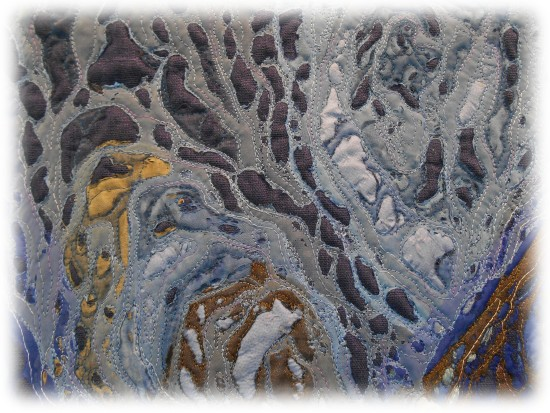 Irina Voronina - Serie Palecosmos-Shells-Nautilus - Detail 01