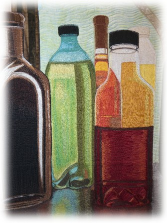 Sara Sharp - Turnin Bottles into -Stained Glass- Detail 01