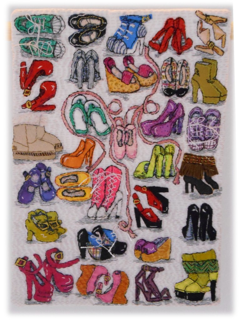 332-miniature-quilts-sarah-jane-dixon-a-girl-cant-have-too-many-shoes